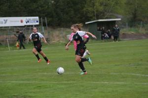 TDFF:s Ilona Thörner är STO-områdets bästa målskytt efter halva säsongen. 15-åringen har gjort 17 mål i division 3.