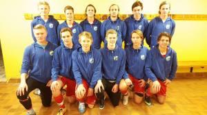 Skärhamn Futsal har en bra vinter bakom sig och tog sig till slutspel även i Färgelanda Cup. (Bild:Privat).